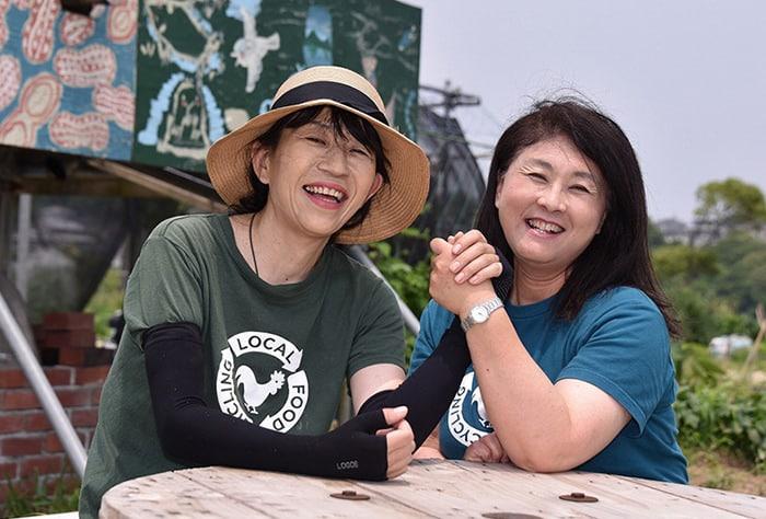 NPO法人循環生活研究所 理事長 永田由利子 (創設者:平由以子)