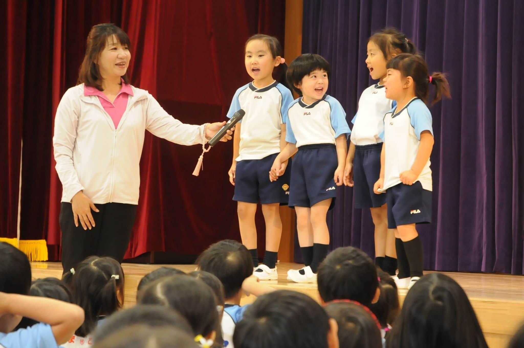 幼稚園留学4組の母子が京都の幼稚園に!